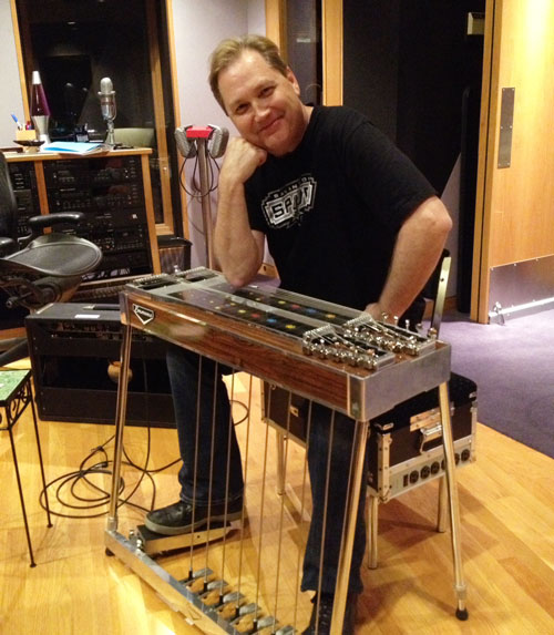 Steve Wariner atSteel Guitar East